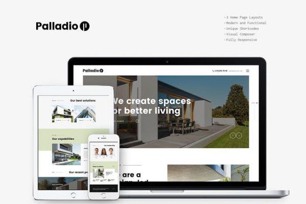 Palladio -  İç Tasarım ve Mimari WP Temasısı