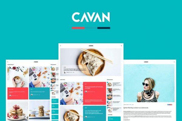 CAVAN -  Farklı Bir WordPress Blog Temasısı