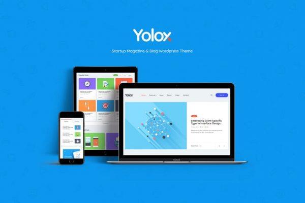 Yolox - İşletmeler için Modern WordPress Blog Temasısı