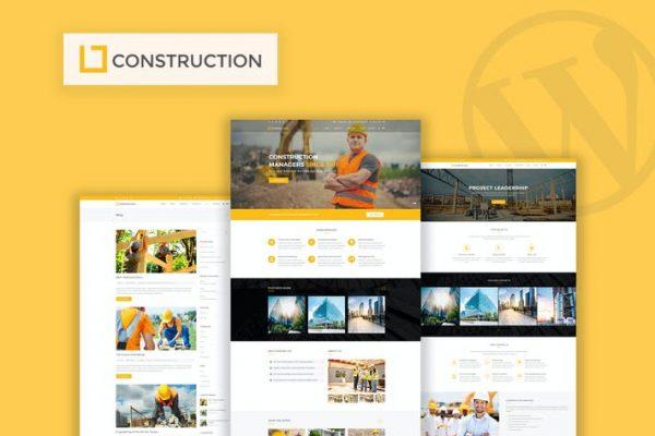 Construction - İş ve İnşaat WordPress Temasısı