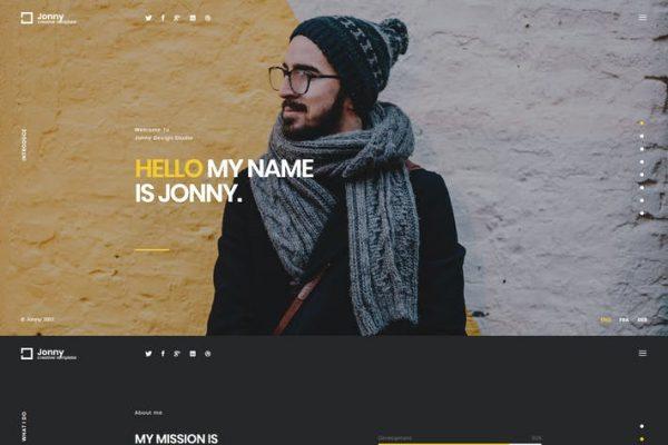 Jonny -  Kişisel WordPress Temasısı
