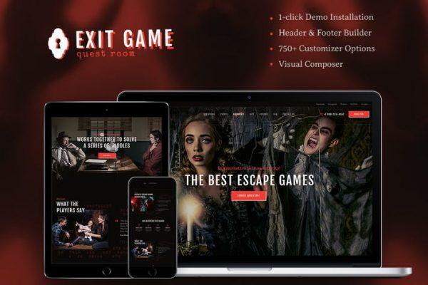 Exit Game Teması