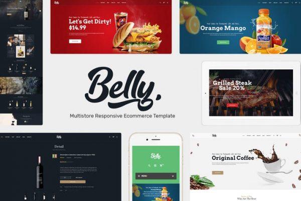Belly -  Çok Amaçlı Teması WooCommerce WordPress