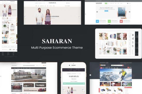 SAHARAN - Duyarlı WordPress Temasısı