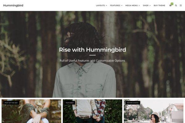 Hummingbird -  Nihai Blog Temasısı
