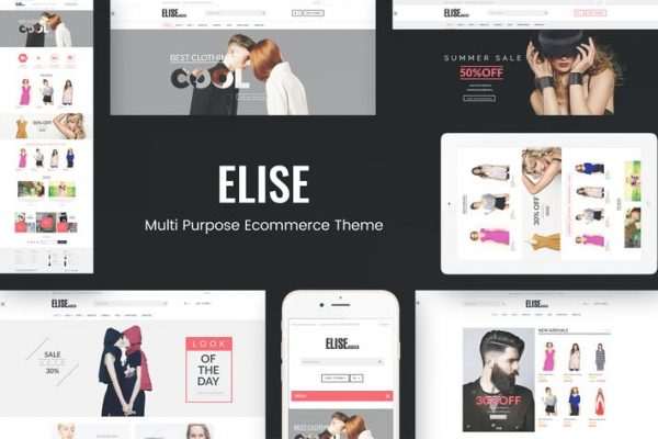 Elise -  Moda WooCommerce WordPress Temasısı