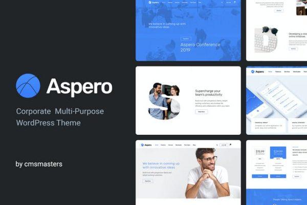 Aspero -  İş WordPress Temasısı