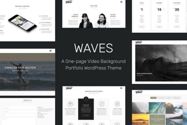 Waves - Tam Ekran Video Bir