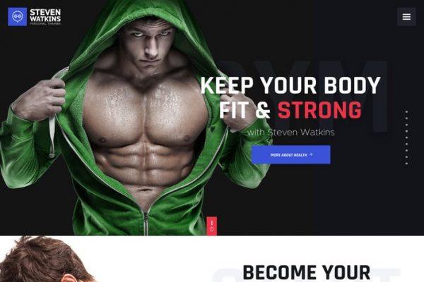 Steven Watkins - Kişisel Jimnastik Antrenörü ve Beslenme