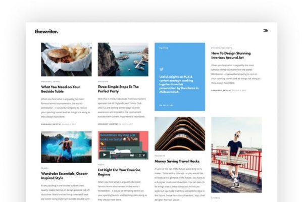 The Writer -  Modern WordPress Blog Temasısı