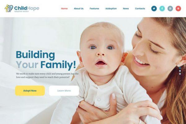 ChildHope - Çocuk Evlat Edinme Hizmeti ve Yardım WP