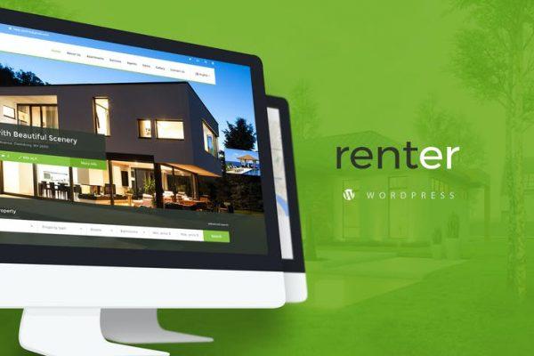 Renter — Property Rent/Sale Real Estate Wordpress Teması