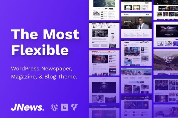 JNews -  WordPress Gazete Dergisi Blog Temasısı