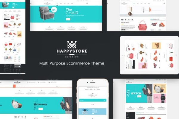 HappyStore - WordPress WooCommerce Temasısı