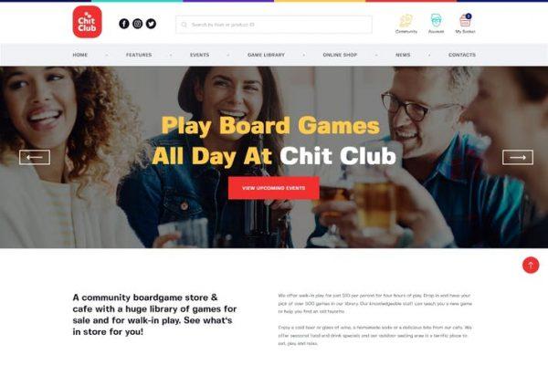 Chit Club Teması
