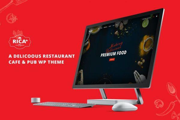 Rica Plus -  Lezzetli Bir Restoran, Cafe & Pub WP