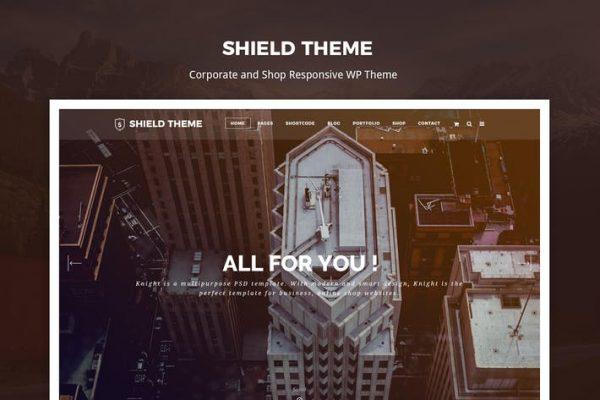 Shield - Yaratıcı Duyarlı Wordpress Temasısı