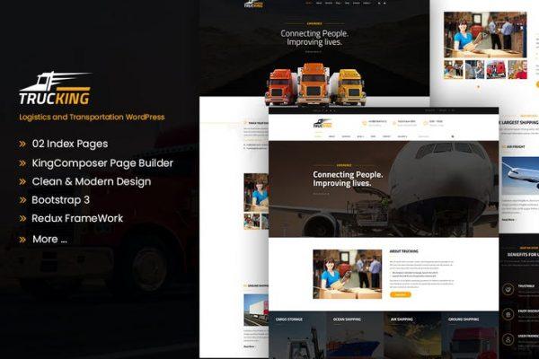 Trucking -  Lojistik ve Taşımacılık WordPress