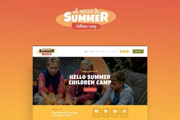 Hello Summer Teması