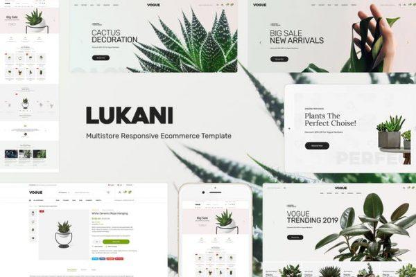 Lukani -  WooCommerce WordPress için Bitki Temasısı