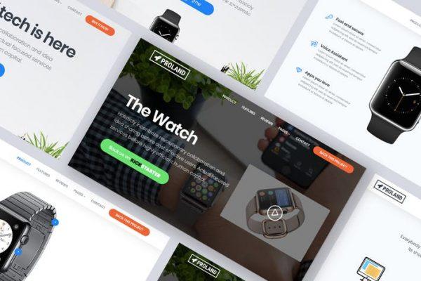 Landing Page Product WordPress  Teması