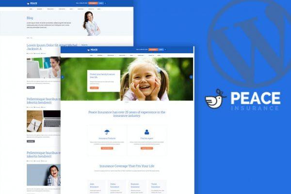Peace - Sigorta Acenteliği WordPress Temasısı