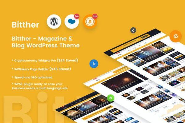 Bitther -   Dergi ve Blog Wordpress Temasısı