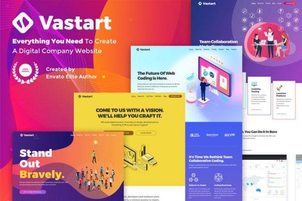 Vastart -  Dijital Şirket ve Başlangıç Temasısı