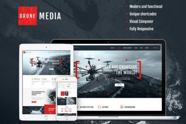 Drone Media Teması