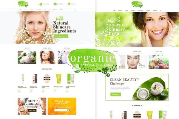 Organic Beauty Teması