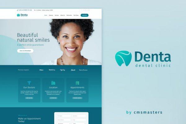 Denta -  Diş Kliniği WP Temasısı