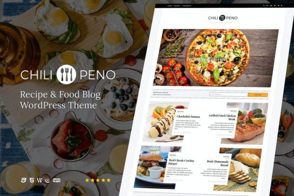 Chilipeno -  Yemek Tarifleri ve WordPress Temasısı