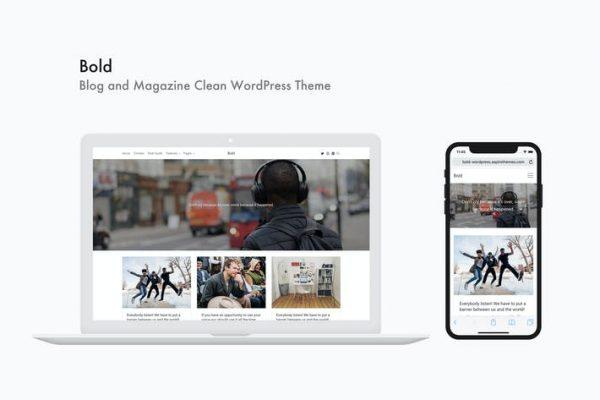 Bold - Blog ve Dergi Temiz WordPress Temasısı