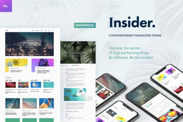 Insider - Çağdaş Dergi ve Bloglama Temasısı