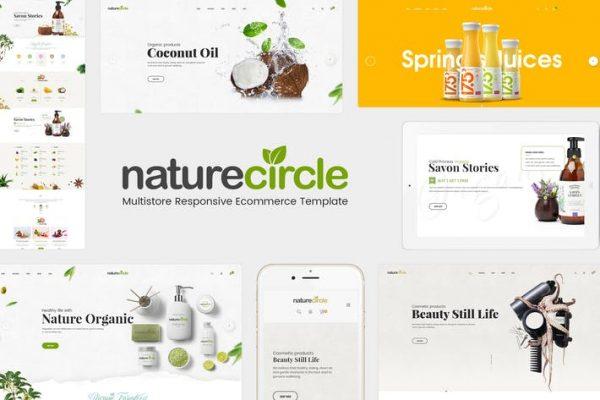 NatureCircle -  Organik WooCommerce WordPress Temasısı