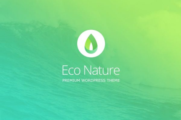Eco Nature -  Çevre ve Ekoloji WordPress Temasısı