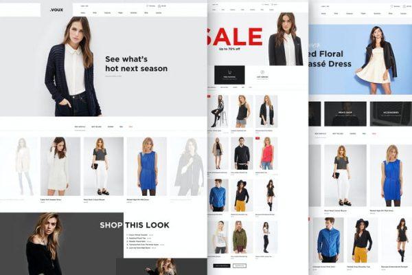 Voux Fashion Shopping  Teması