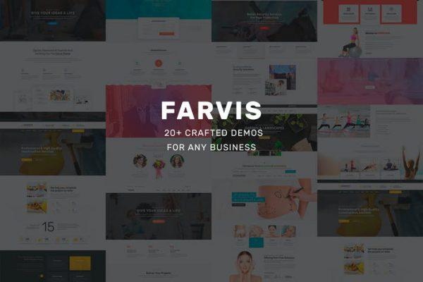 Farvis - Çok Amaçlı WordPress Temasısı