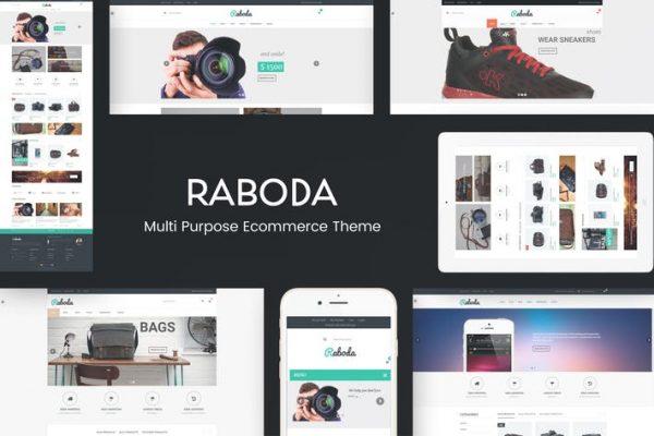Raboda -  e-Ticaret Duyarlı WordPress Temasısı