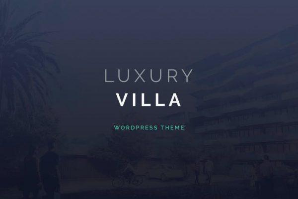 Luxury Villa -  Özellik Vitrini WordPress Temasısı