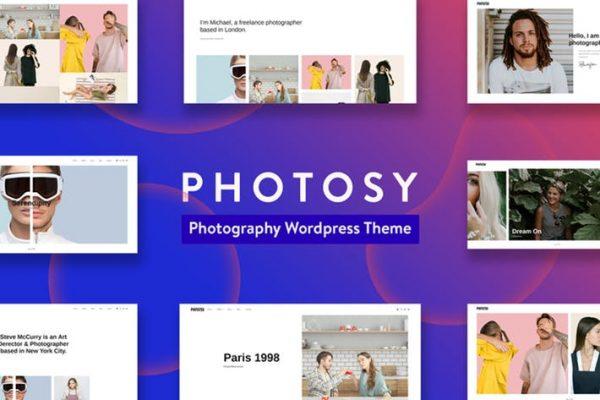 Photosy -  Fotoğrafçılık WordPress Temasısı