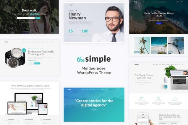 Simple - İş WordPress Temasısı