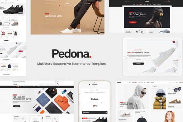 Pedona - WordPress için Moda ve Spor Temasısı