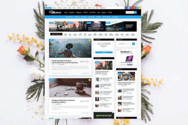 Multicote - Haber Dergisi / WooCommerce WP Temasısı