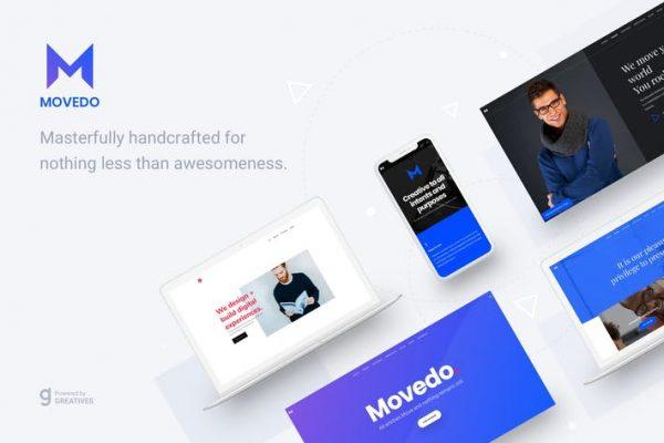 MoveDo - Duyarlı Çok Amaçlı WordPress teması