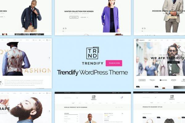 Trendify -  Moda e-Ticaret WordPress Temasısı