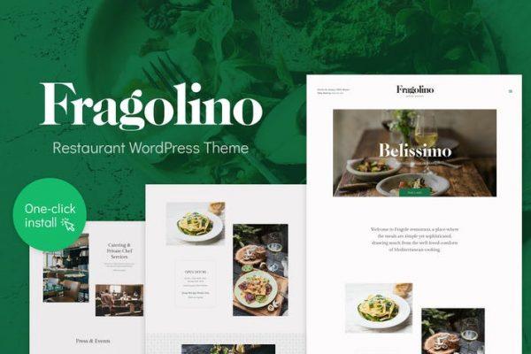 Fragolino -  Enfes Restoran WordPress Temasısı