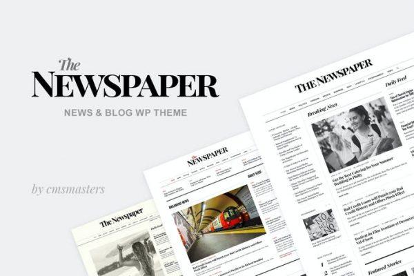 The Newspaper - News Magazine Editoryal WP Temasısı