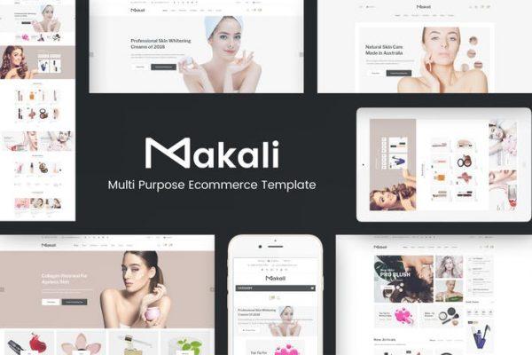 Makali -  WooCommerce için Kozmetik ve Güzellik Temasısı