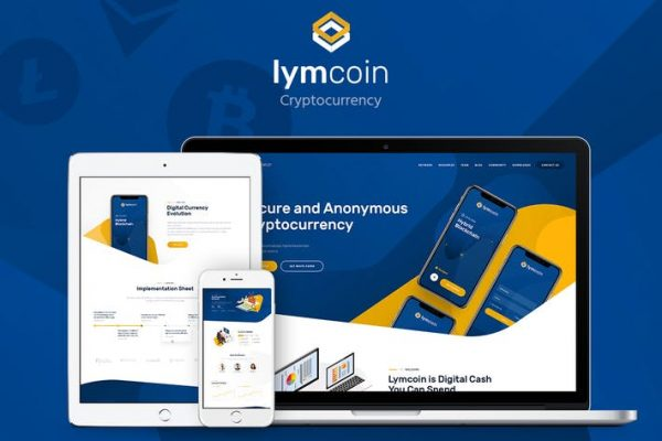 Lymcoin - Kripto Para ve ICO WordPress Temasısı